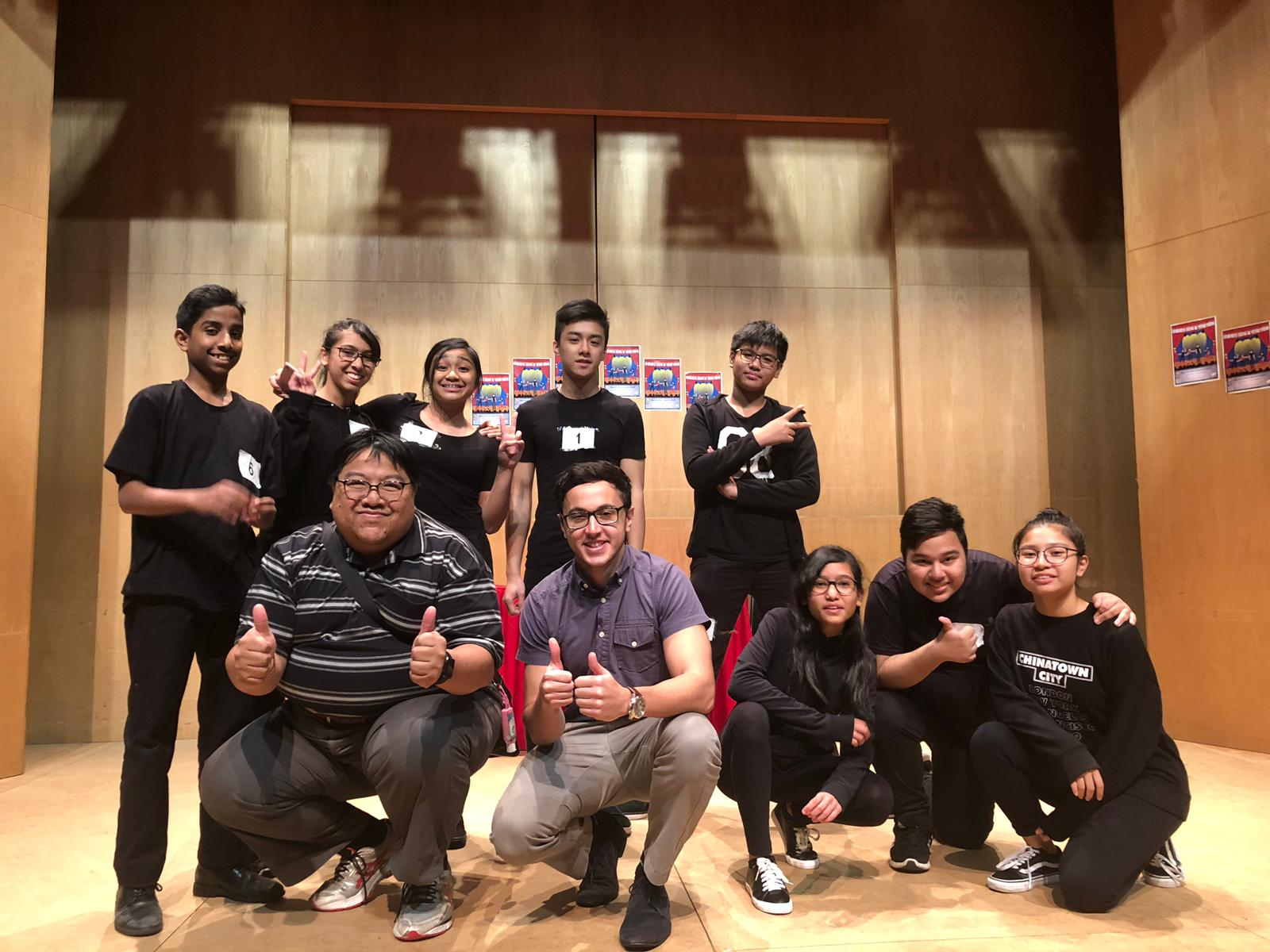 Speak Out – Act Up!' Improvised Drama Competition 2018/19 – The